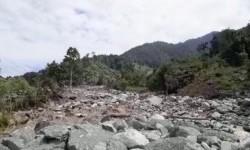 Kondisi Sungai Gunung Cycloop, Sentani Pascabanjir Bandang