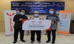 Gandeng Forwot, Wuling Donasikan Sembako ke Majelis Taklim
