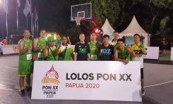 Tim basket 3x3 Sumut yang akan berlaga di PON XX Papua.