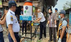 Cegah Corona, Dompet Dhuafa Riau Bangun Stasiun Cuci Tangan