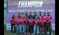 Tim Kriket Bali Juarai Turnamen Piala Kartini Cup 2021