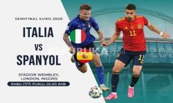Timnas Italia Vs Timnas Spanyol