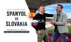 Timnas Spanyol Vs Timnas Slovakia