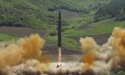 Korea Utara Uji Coba Rudal ke Laut Jepang