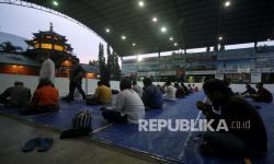 In Picture: Buka Puasa di Masjid Cheng Ho Surabaya