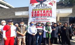 Massa Ormas Islam dan Nasionalis Sukabumi Aksi Tolak RUU HIP