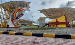 Venue Panjat Tebing PON Papua Berstandar Internasional