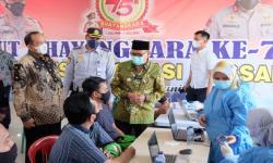 Depok Salurkan Bantuan Sembako untuk Sopir Angkot