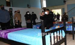 Rumah Sakit Lapangan Asrama Haji di Madiun Mulai Beroperasi