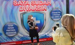 In Picture: Perkembangan Vaksinasi Covid-19 di Jawa Tengah