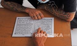 In Picture: Pesantren Kilat Bulan Ramadhan di Rutan Serang