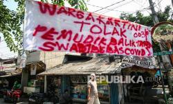 Polda Tandai Rumah Warga Balik dari Mudik ke Jakarta