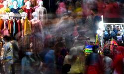 In Picture: Pasar Tanah Abang Ramai Jelang Bulan Ramadhan 1442 H