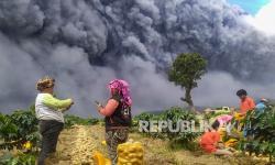 DPR Minta Pemda Bantu Warga Terdampak Erupsi Sinabung