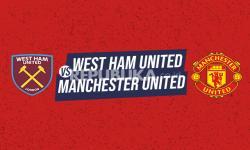 Infografis West Ham United vs Manchester United