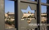 Palestina menjadi rumah nyaman bagi 3 agama samawi. (File Foto) Suasana Dome of The Rock di kompleks Al Aqsa, Yerusalem, Palestina.