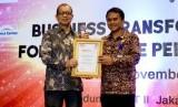 Lakukan Inovasi Kelola Hotel,  Patra Jasa Diganjar Penghargaan. (FOTO: WE)
