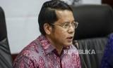 Dirjen Pendidikan Islam Kementerian Agama Kamaruddin Amin memberikan keterangan saat konferensi pers jelang Annual International Conference on Islamic Studies (AICIS) 2019 di Kantor Kementerian Agama, Jakarta, Kamis (26/9).