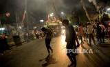 Malam takbiran yang semarak tidak terlihat di Kota Medan pada Sabtu (23/5). Warga Medan diimbau untuk takbiran di rumah masing-masing.