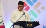 Sambutan Deputi BAZNAS, M Arifin Purwakananta pada acara Indonesia Zakat Summit yang digelar Forum Zakat (FOZ), di Hotel Horison, Kota Bandung, Kamis (20/12).