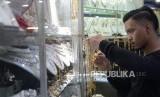 Toko penjual perhiasan emas (ilustrasi)