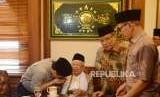 Kabar Pertemuan dengan Habib Rizieq, Ini Jawaban Kiai Ma'ruf