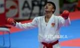Karateka Indonesia Arrosyiid Rifki Ardiansyah
