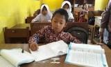 Pelajar di Sukabumi, Jawa Barat.