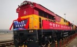 Jalur sutra baru Cina ke Eropa berakhir di Duisburg, Jerman.
