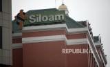 Gedung Rumah Sakit Siloam di Kawan Lippo Karawaci, Tangerang, Banten, Rabu (4/7).
