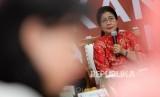 Menteri Kesehatan Nila Moeloek.