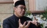 Menteri Agama RI,  Lukman Hakim Saifuddin saat wawancara  bersama Republika di Jakarta, Sabtu (22/12).