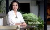 Ketua Pansel Calon Pimpinan KPK Yenti Garnasih saat diwawancarai Republika, Jakarta.