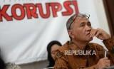 Menolak Perubahan RUU KPK. Ketua KPK Agus Rahardjo menghadiri acara penolakan RUU KPK oleh Pusat Kajian Hukum dan Antikorupsi Perguruan Tinggi Seluruh Indoensia di Yogyakarta, Rabu (11/9/2019).