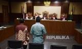 Ilustrasi persidangan di PN Jakarta Pusat.