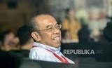 Sekertaris Menteri Pemuda dan Olahraga (Sesmenpora) Gatot S. Dewa Broto bersiap menjalani pemeriksaan di Gedung Merah Putih KPK, Jakarta, Selasa (24/9).