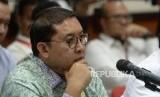 Pertanyakan Penahanan Ahmad Dhani. Wakil Ketua DPR Fadli Zon saat bertemu dengan jajaran Pengadilan Tinggi DKI Jakarta di PT DKI Jakarta, Senin (4/2/2019).