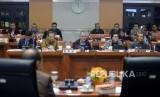 [ilustrasi] Ketua KPK Agus Raharjo memyampaikan pandangannya sat mengikuti Rapat Dengar Pendapat (RDP) lanjutan dengan Komisi III DPR di Kompleks Parlemen Senayan, Jakarta, Selasa(13/2).