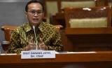 Calon pimpinan KPK Sigit Danang Joyo menjalani uji kepatutan dan kelayakan di ruang rapat Komisi III DPR, Jakarta, Rabu (11/9/2019).