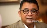 Direktur Jenderal PAUD dan Pendidikan Masyarakat Harris Iskandarmenyampaikan paparannya saat wawancara di Gedung Kementerian Pendidikan dan Kebudayaan, Jakarta, Senin (5/2).