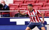Suarez Amankan Atletico Bertahan di Puncak Klasemen