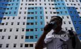 In Picture: BPBD DKI Siapkan Rusun Nagrak Jadi Tempat Isolasi