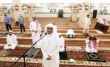 Masjid di Arab Saudi kembali dibuka pertama kalinya untuk jamaah, Ahad (31/5) (Foto: ilustrasi pembukaan masjid di Arab Saudi)