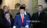 Jokowi Kenalkan 38 Jajaran Kabinet Indonesa Maju