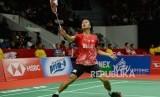 Pebulu tangkis tunggal putra Indonesia Anthony Sinisuka Ginting lolos ke final Indonesia Masters 2020.