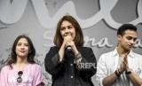 Peran Vanesha berakhir di film 'Milea: Suara Dari Dilan' (Foto: Vanesha Priscilla (tengah))