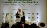 Sekjen Liga Dunia Islam Muhammad bin Abdul Karim Al Issa, menyatakan kerja sama lintas agama untuk menghadapi pandemi Corona.