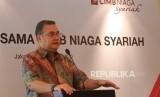 Direktur Syariah Banking CIMB Niaga Pandji P Djajanegara. Unit Usaha Syariah (UUS) PT Bank CIMB Niaga Tbk (CIMB Niaga Syariah) akan mendistribusikan daging kurban ke berbagai daerah di Indonesia.