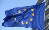 PLO meminta aksi nyata Eropa untuk cegah pembangunan Israel di Yerusalem Timur. Bendera Uni Eropa.