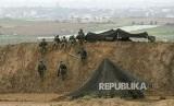 MIliter Israel mengalami kekahalan pada Perang Lebanon Tahun 2000 lalu. Ilustrasi personel militer Israel.